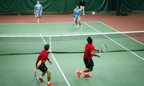 Find To Play Tennis With Tennis For The Of The The Daily Cardinal