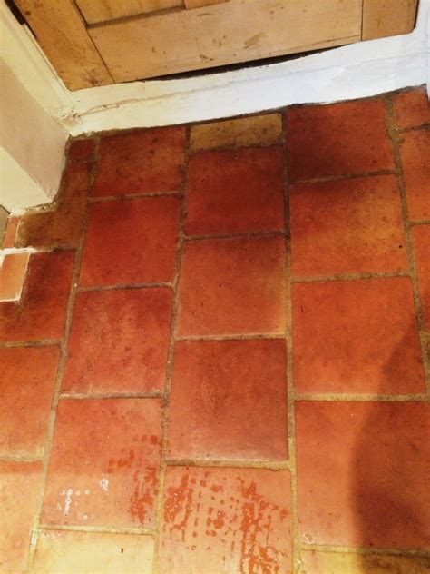 clean and seal for a terracotta tiled floor in