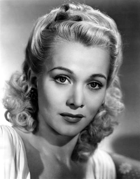 mid 40s hair styles carole landis ca early mid 1940s photograph by everett