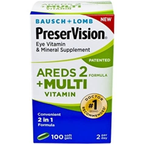 Wellness 2 A Day Multi Vitamin Mineral Formula 120 Tablets bausch lomb preservision areds 2 formula multivitamin eye vitamin mineral supplement