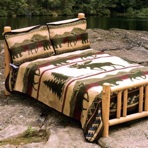 fleece bed set cedar run fleece bed sets