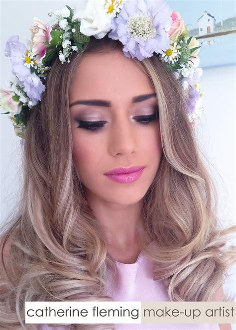 Makeup Bridesmaid Pink Bridesmaid Dresses Catherine Fleming Make Up
