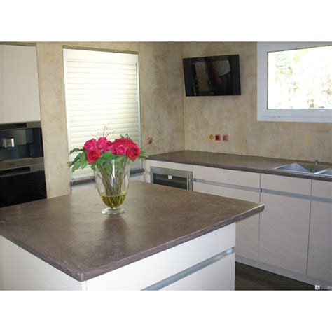 plan de travail cuisine effet beton b 233 ton cir 233 cuisine et plan de travail beton