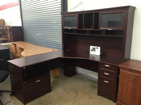 bush corner desk with hutch fresh modern bush cabot corner desk with hutch and b 18509