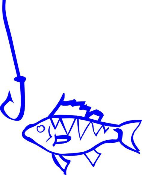 Fish Hook Clipart fish and hook clip at clker vector clip