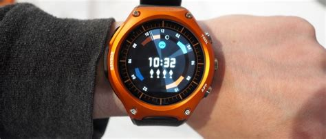 Rugged Smartwatch by Casio Android Wear On Rugged And Slashgear