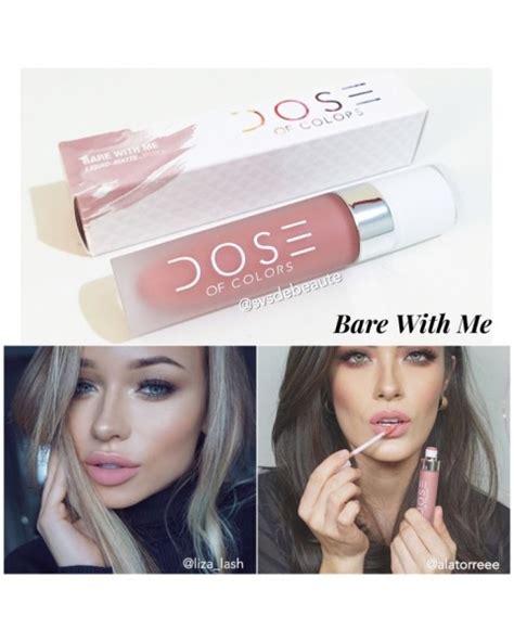 Satuan Dose Of Colours Matte Lipstick Like Ori dose of colors liquid matte lipstick bare with me lipstick