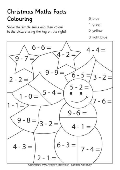 christmas coloring pages with math problems coloring pages with math problems number flowers sheets