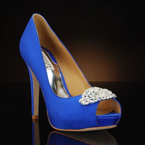 my glass slipper my glass slipper blue wedding shoes featured on cbs news