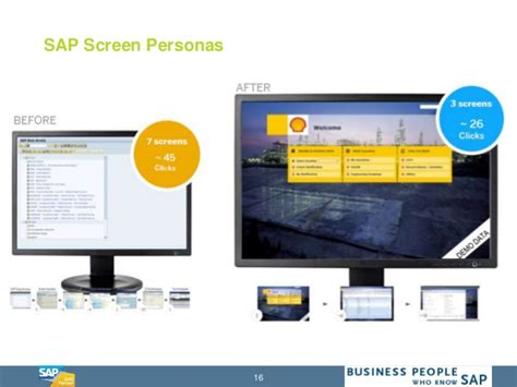 tutorial sap personas how to run simple with sap screen personas