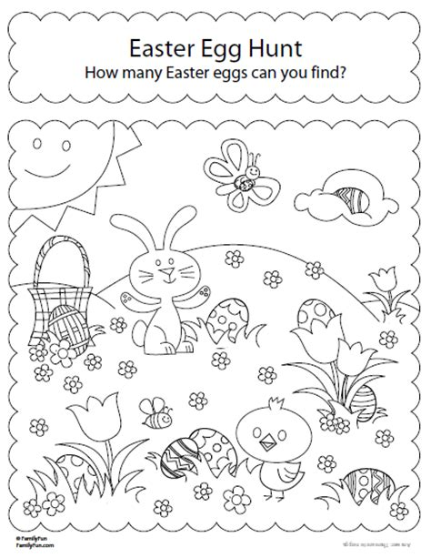 coloring pages easter egg hunt kayu coloring pages easter