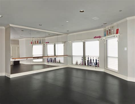 ideas for an at home dance space ballet bar traditional arcady traditional home gym dallas by dallas