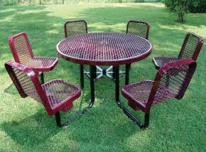 Marine Grade Polymer Patio Furniture Commercial Park Benches Picnic Tables And Site