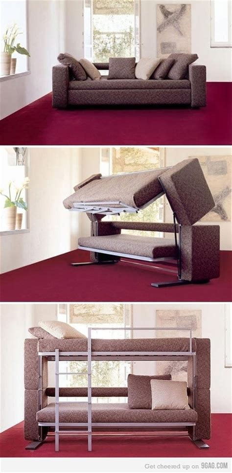 sofa that turns into a bed honey i shrunk the house a that turns into a bunk bed