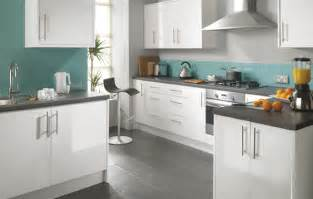 White Gloss Kitchen Cabinets by Fairmont White Gloss Kitchen Cheap Kitchens Uk Budget