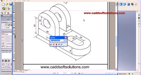 solidworks tutorial mirror solidworks basic part taught how to design easy for