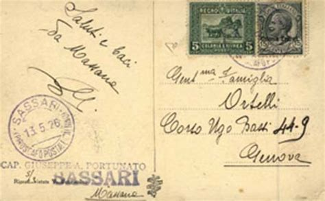 tariffe postali lettere storia postale italiana
