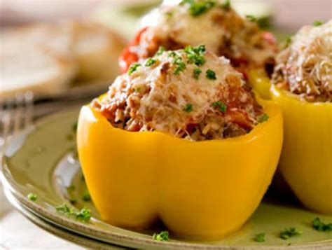 stuffed pepper recipe ground turkey foodista recipes cooking tips and food news ground