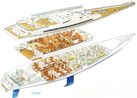 yacht floor plans m5 layout vosper thornycroft sail yacht superyachts com