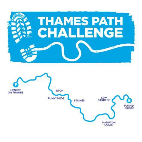 Thames River Path Challenge   thames path challenge dreams come true