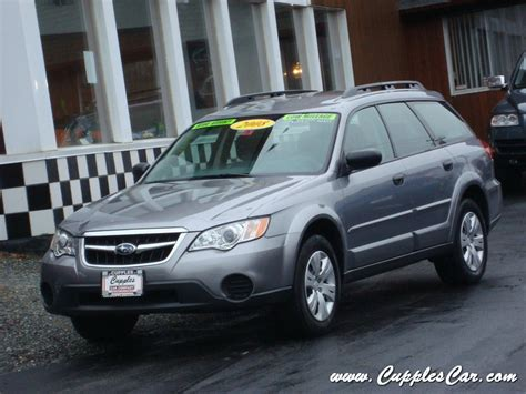 2008 subaru legacy outback wagon awd sedan for sale in
