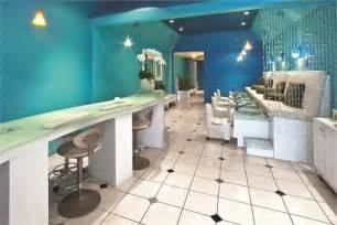 Small Nail Salon Interior Designs Clients See A Difference With Aqua Nail Bar Amp Boutique