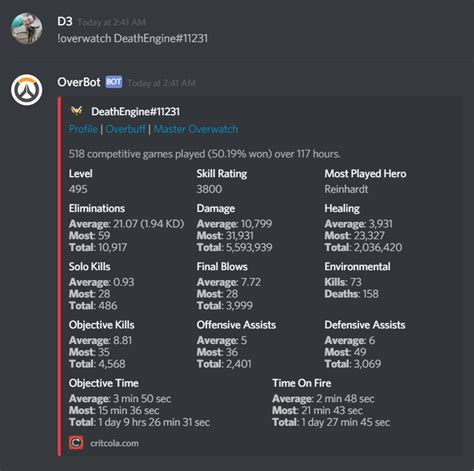 discord youtube playlist bot 5 great discord bots for overwatch chatbots life