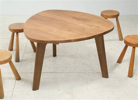 Triangle Dining Table Triangular Oak Dining Table At 1stdibs