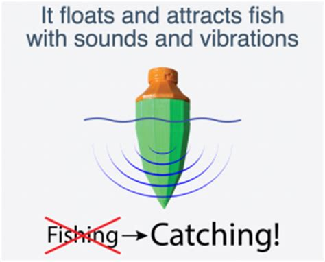 """3d printed """"fish call"""" fishing lure uses sounds to fill"""