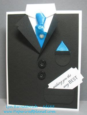 tuxedo template card 3d168 tuxedo card paper craft planet hpe2bcarded