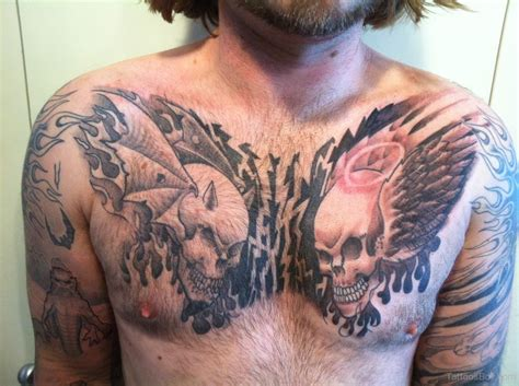 tattoo designs chest piece wings tattoos designs pictures page 10