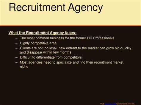 Company Introduction Letter For Cus Recruitment How To Promote The New Recruitment Agency