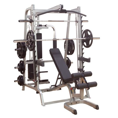 fitnesszone solid series 7 smith machine package