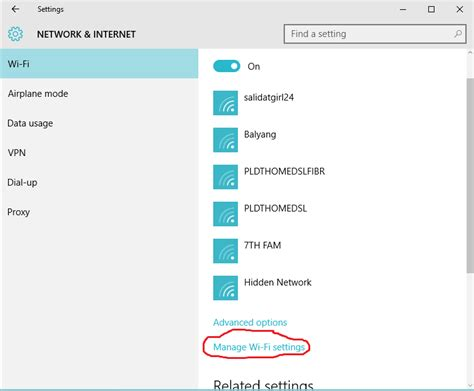resetting wifi on windows 10 how to forget wifi network in windows 10