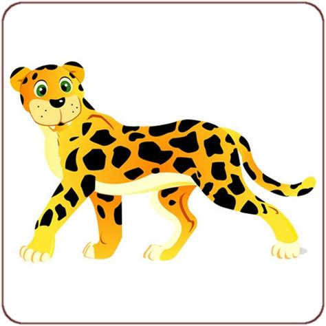 Auto Sticker Leopard by Sticker L 233 Opard Un Sticker Animal Savane Pour Chambre Enfant