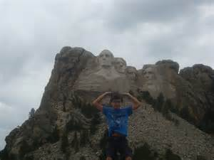 mount rushmore looking back mount rushmore august 1st elevation 5300 feet rv there yet dad
