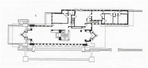 Robie House Floor Plan by An Architecture For Social Change Robie House Usa Go