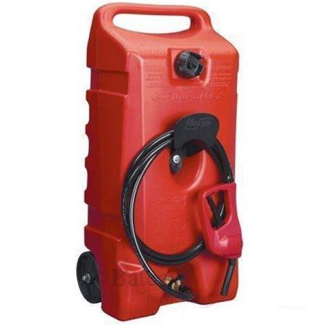 losse tank buitenboordmotor mobiele brandstof tank duramax 53 liter draagbare