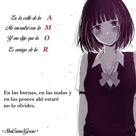 imagenes un anime amor shuoumagcrow anime frases anime frases frases
