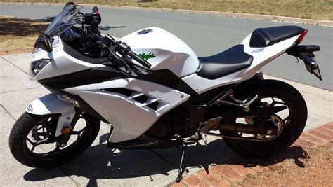 White Kawasaki by White Kawasaki 300 In Quality And Price For Sale