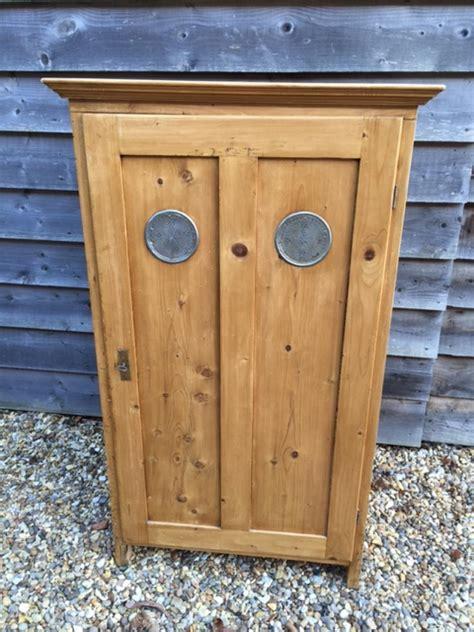 Antique Larder Cupboard - small antique pine larder cupboard in furniture boxes