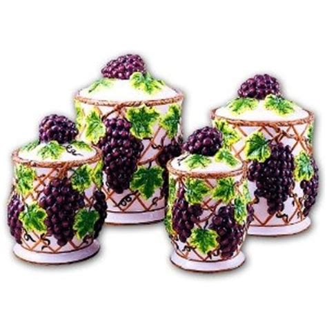 grape kitchen canisters 159 best images about wine and grapes theme on