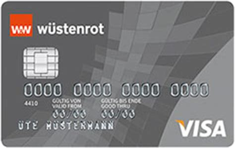 wuestenrot bank w 252 stenrot visa classic kreditkartebilliger de