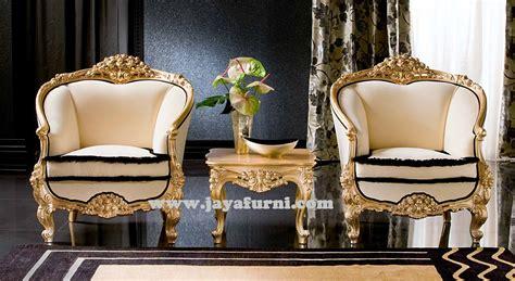 Kursi Ukir kursi teras mewah ukir klasik gold jayafurni mebel