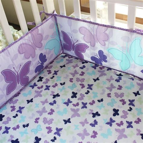 purple butterfly crib bedding 1000 ideas about purple bedding sets on pinterest
