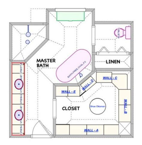 luxury master bathroom floor plans the en suite luxury master bath mary sherwood lifestyles