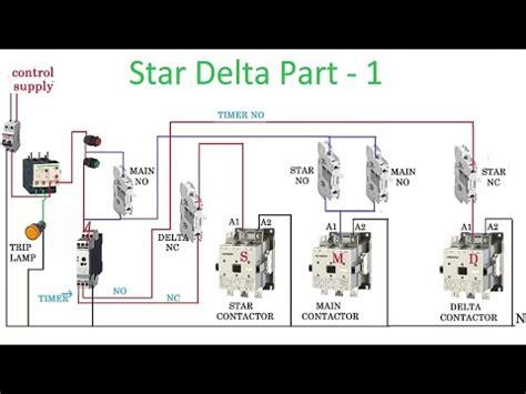 delta starter wiring diagram explanation 45 wiring