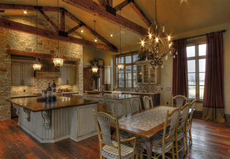 ranch style home interior ranch home rustic kitchen houston by sweetlake