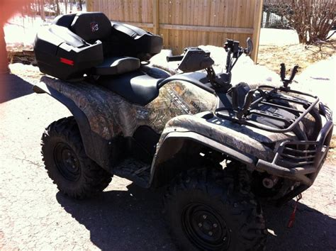 yamaha grizzly rear seat how to mount rear seat storage yamaha grizzly atv forum