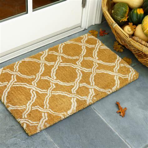 Designer Doormat 13 fabulous designer doormats hgtv